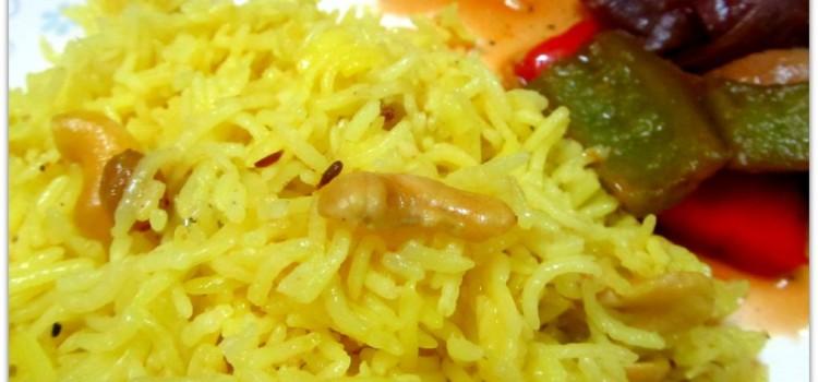Sweet Basanti Pulao