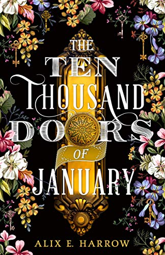book cover of the ten thousand doors of january. image source amazon.in.